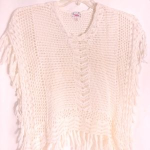Justice Sweater Poncho